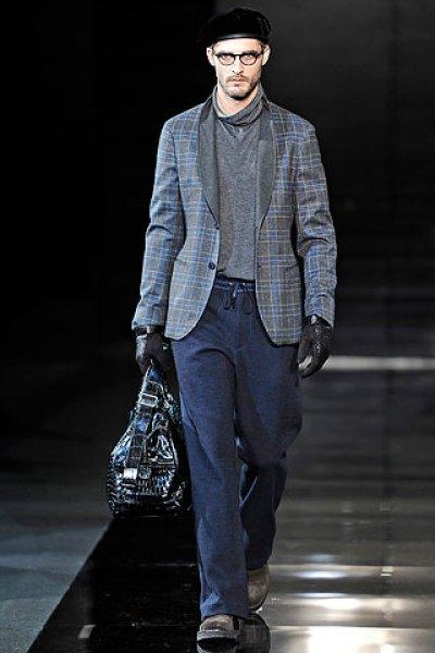 画像1: ジョルジオアルマーニ黒ラベルのジャケット(56)A/W 《《SALE》》