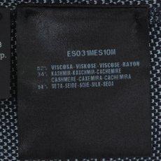 画像3: ジョルジオアルマーニ黒ラベルの青いセーター(48/58) (3)
