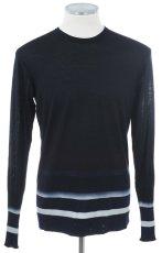 画像1: ジョルジオアルマーニ黒ラベルのセーター(52/56/58) A/W (1)