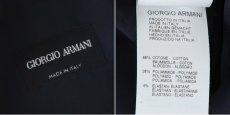 画像5: ジョルジオアルマーニ「黒ラベル」ネイビーシャツ(42/45) (5)