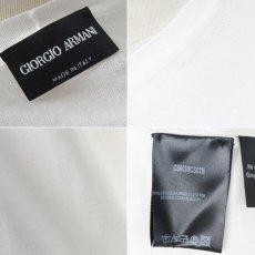画像2: ジョルジオアルマーニ黒ラベル「極上コットン」セーター(56/58) 【国内発送】 (2)