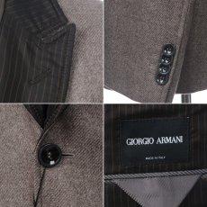 画像4: ジョルジオアルマーニ黒ラベル「カシミアxシルク」ジャケット(56)A/W 《《SALE》》 (4)