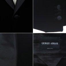 画像4: ジョルジオアルマーニ黒ラベルのベルベットジャケット(54)A/W 《《SALE》》 (4)