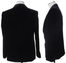 画像2: ジョルジオアルマーニ黒ラベルのベルベットジャケット(54)A/W 《《SALE》》 (2)