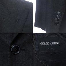 画像4: ジョルジオアルマーニ黒ラベル「黒ダブルジャケット」(48)A/W (4)