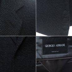 画像4: ジョルジオアルマーニ黒ラベルのグレージャケット(50)A/W (4)