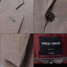 画像4: ジョルジオアルマーニ黒ラベル「TAYLORモデル」スーツ(56)A/W 【国内発送】 (4)