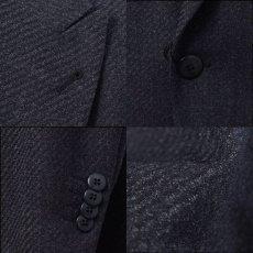 画像4: ジョルジオアルマーニ黒ラベル「CAMBRIDGE」ツイード素材スーツ(56/60)A/W (4)