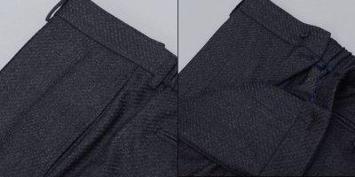 画像2: ジョルジオアルマーニ黒ラベル「CAMBRIDGE」ツイード素材スーツ(56/60)A/W