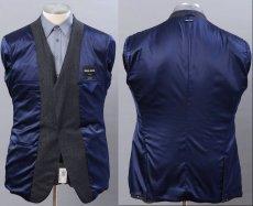 画像3: ジョルジオアルマーニ黒ラベル「CAMBRIDGE」ツイード素材スーツ(56/60)A/W (3)
