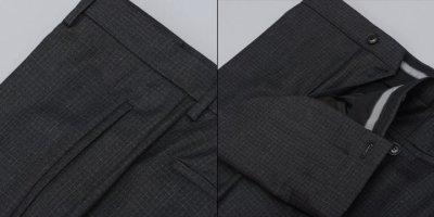 画像2: ジョルジオアルマーニ黒ラベル「GEORGE」グレイスーツ(56/60)A/W