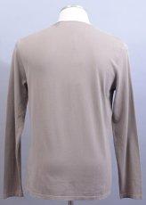 画像2: エンポリオアルマーニのカーキ色セーター(52/54) 【国内発送】 (2)