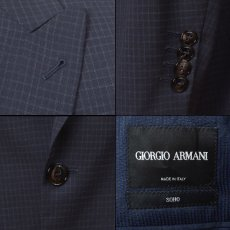画像4: ジョルジオアルマーニ黒ラベル スーツ Sohoシリーズ コレクションモデル(44/52/54/56) S/S (4)