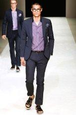 画像6: ジョルジオアルマーニ黒ラベル スーツ Sohoシリーズ コレクションモデル(44/52/54/56) S/S (6)