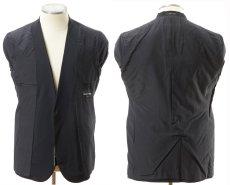 画像3: エンポリオアルマーニの紺色ジャケット(46/48/50/56)S/S (3)