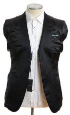 画像5: ジョルジオアルマーニ黒ラベル タキシードスーツ(46)冠婚葬祭 【国内発送】/結婚式 小さいサイズ 《《SALE》》  (5)