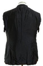 画像5: ジョルジオアルマーニ黒ラベル「SUPER 150's」ネイビースーツ(56)S/S 濃紺 TAYLORモデル (5)