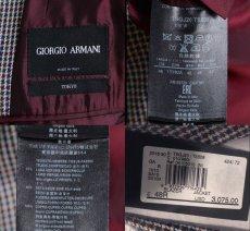 画像5: ジョルジオアルマーニ黒ラベル TOKYOモデル 春夏 ジャケット (48) S/S コレクションモデル  (5)