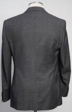 画像3: ジョルジオアルマーニ黒ラベル ウール製「WALL STREETシリーズ」 シングルングルブレストスーツ(50)A/W グレー (3)