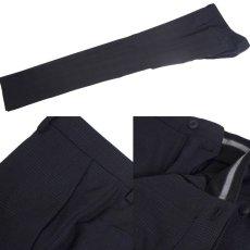 画像8: ジョルジオアルマーニ黒ラベル ウール「SOHOモデル」チェック柄スーツ(48L/50L)A/W (8)