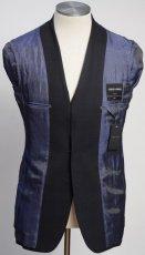 画像5: ジョルジオアルマーニ黒ラベル ウール「SOHOモデル」チェック柄スーツ(48L/50L)A/W (5)