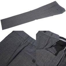 画像8: ジョルジオアルマーニ黒ラベル ウール製「WALL STREETシリーズ」 シングルングルブレストスーツ(50)A/W グレー (8)