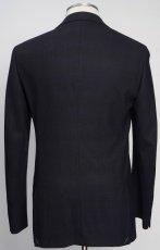 画像3: ジョルジオアルマーニ黒ラベル ウール「SOHOモデル」チェック柄スーツ(48L/50L)A/W (3)