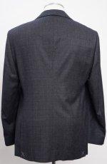 画像3: ジョルジオアルマーニ黒ラベル ウール 「SOHOモデル」チェック柄スーツ(56)A/W (3)