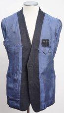 画像7: ジョルジオアルマーニ黒ラベル ウール 「SOHOモデル」チェック柄スーツ(56)A/W (7)