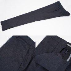 画像8: ジョルジオアルマーニ黒ラベル ウール 「SOHOモデル」チェック柄スーツ(56)A/W (8)