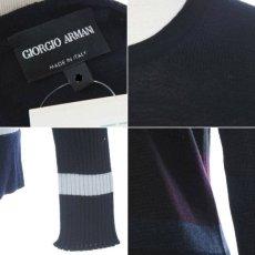 画像2: ジョルジオアルマーニ黒ラベルのセーター(52/56/58) A/W (2)