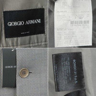 画像2: ジョルジオアルマーニ黒ラベルのジャケット(56)S/S  《《SALE》》 【国内発送】