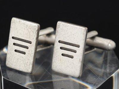 画像1: エンポリオアルマーニ「ロゴ入り」カフス