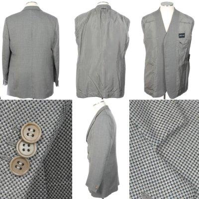 画像1: ジョルジオアルマーニ黒ラベルのジャケット(56)S/S  《《SALE》》 【国内発送】