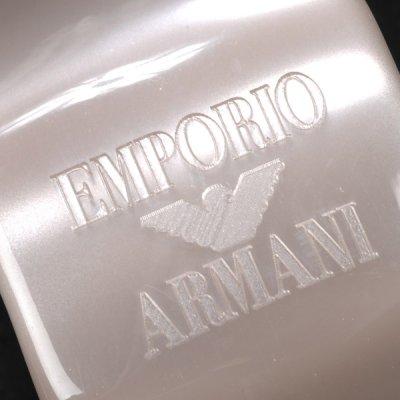 画像1: エンポリオアルマーニのグレーバングル(L)(レディース) ギフトボックス付き