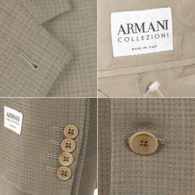 画像1: アルマーニ コレツィオーニのジャケット(50S/52L)S/S  《《SALE》》 【国内発送】