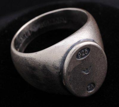 画像2: エンポリオアルマーニ「Logo Signet Ring」