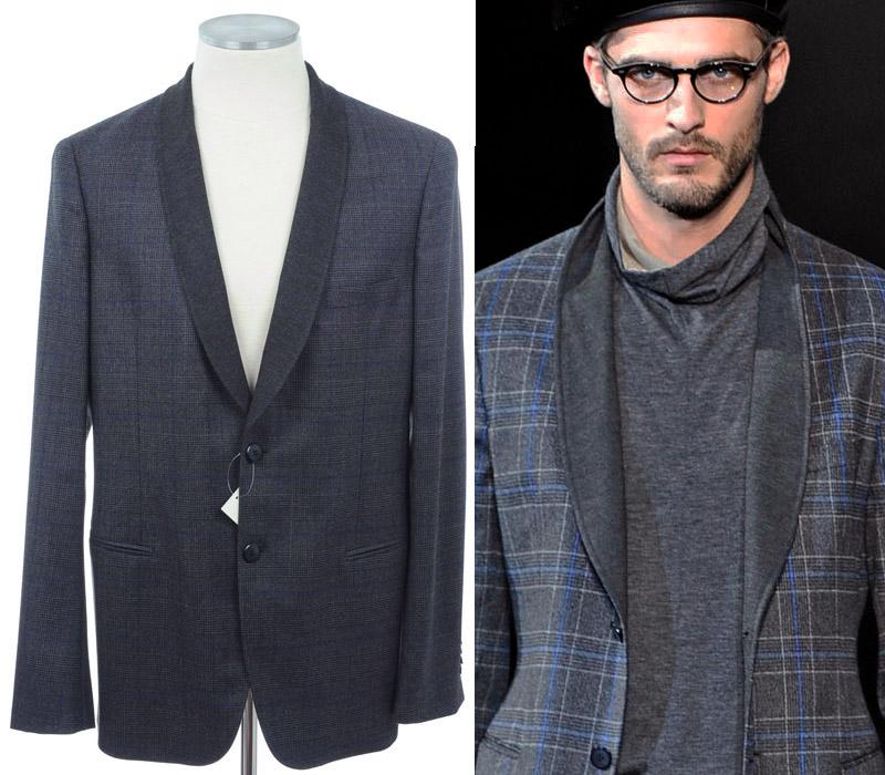画像1: ジョルジオアルマーニ黒ラベルのジャケット(56/58)A/W (1)