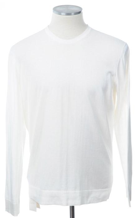 画像1: ジョルジオアルマーニ黒ラベル「極上コットン」セーター(56/58) 【国内発送】 (1)