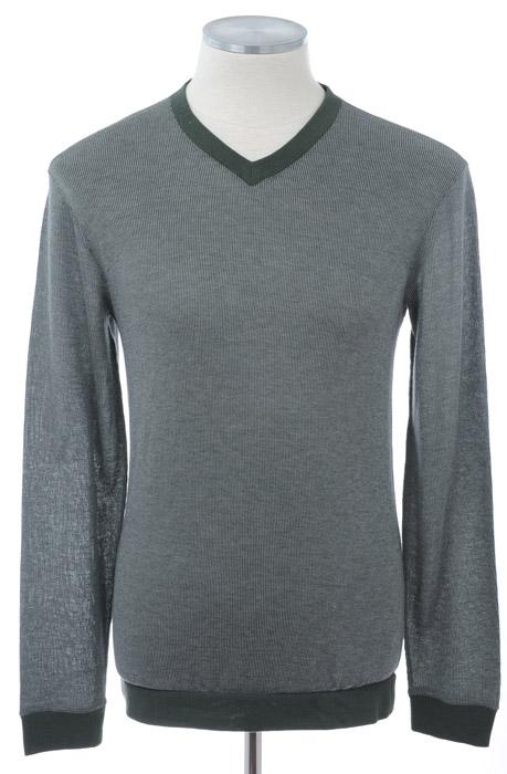 画像1: ジョルジオアルマーニ黒ラベルのセーター(52) (1)