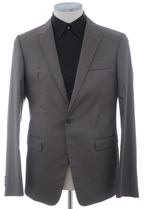 画像1: エンポリオアルマーニのサマースーツ【ライトブラウン】(52)S/S (1)