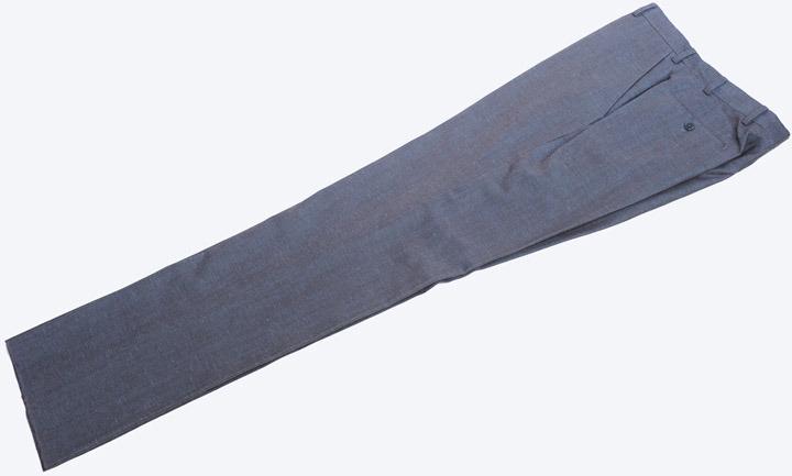画像1: アルマーニ コレツィオーニのブルーグレー系パンツ(48)S/S (1)