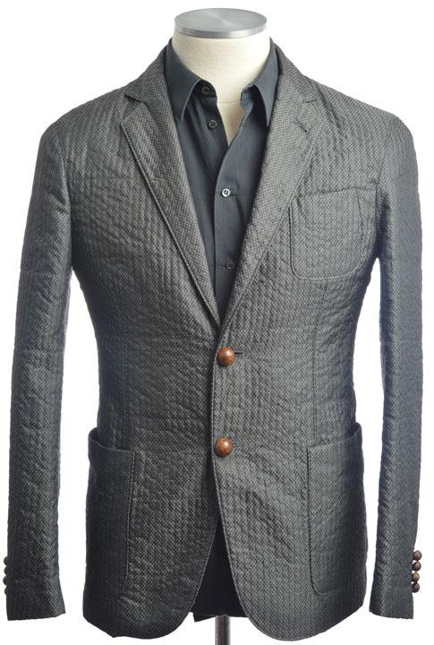 画像1: ジョルジオアルマーニ黒ラベルのジャケット(50)A/W (1)