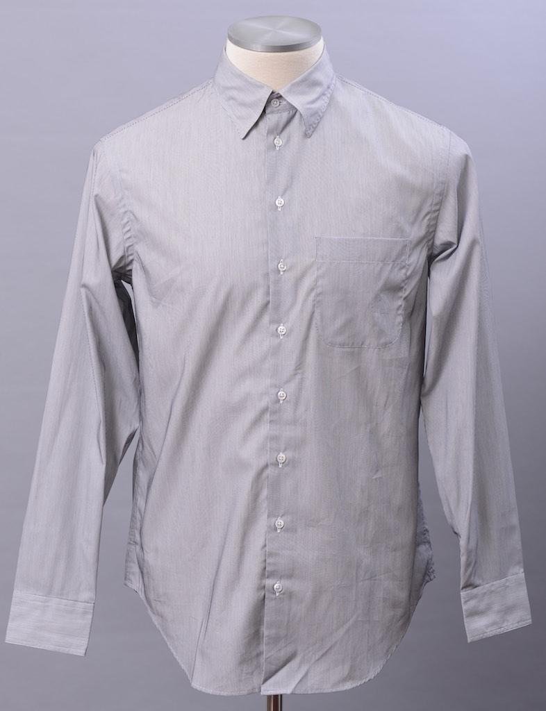 画像1: ジョルジオアルマーニ「黒ラベル」極上シャツ(40) 【国内発送】 (1)