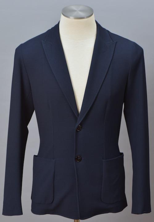 画像1: ジョルジオアルマーニ黒ラベル 紺色ジャケット (50) 「春夏 」S/S (1)