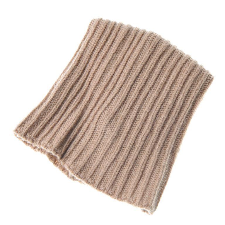 画像1: ジョルジオアルマーニ黒ラベルのウール製ニット帽 (1)