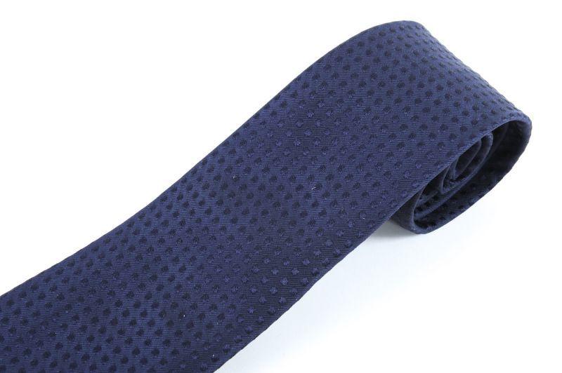 buy online 10fb7 fd8c6 ジョルジオアルマーニ 「黒ラベル」 ネクタイ 紺色