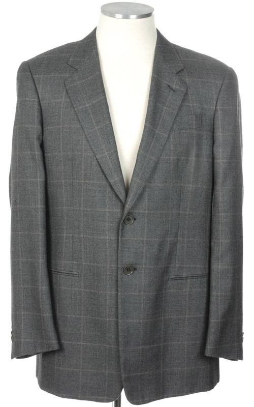 画像1: ジョルジオアルマーニ黒ラベルのジャケット / カシミアxシルク混紡/グレー(56)A/W  《《SALE》》 【国内発送】 (1)