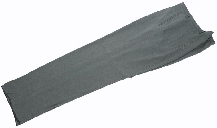 画像1: ジョルジオアルマーニ黒ラベル「オリーブグレー」パンツ(58)S/S (1)