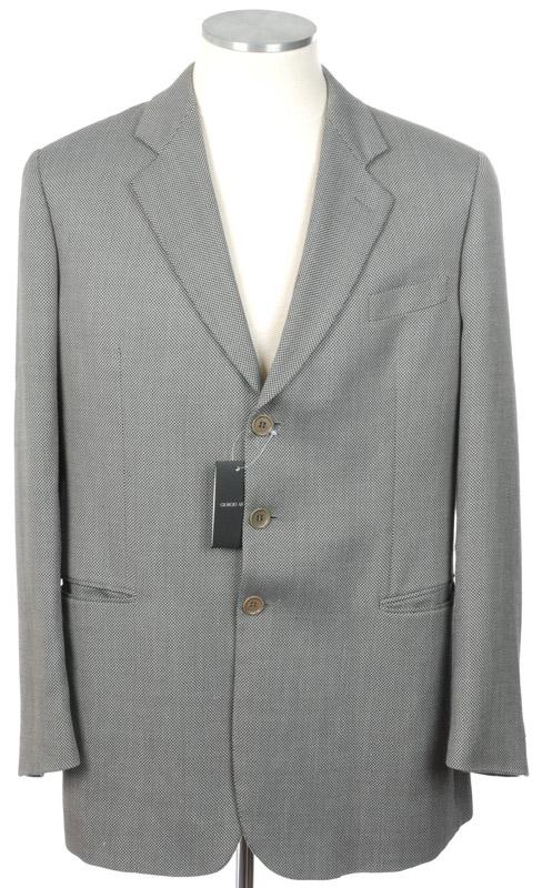 画像1: ジョルジオアルマーニ黒ラベルのジャケット(56)S/S  《《SALE》》 【国内発送】 (1)